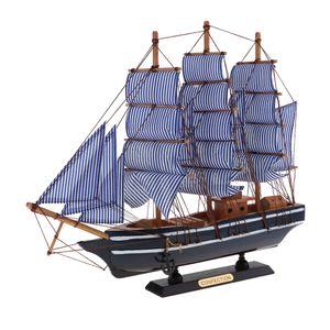 1 Stück Segelschiffmodell , 1 Stück Paket Box , Größe 360x85x410mm