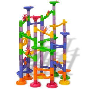 vidaXL Murmelbahn Kugelbahn Kinderspielzeug