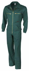 """Qualitex Rallyekombi """"classic"""" Unisex 61948d grün 106 Arbeitsoverall, Overall Handwerker, Heimwerker"""