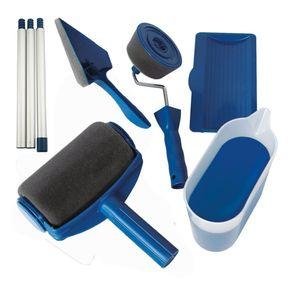 8er Pack Farbroller Kit - Farbrollenset mit Sticks Paint Roller Pro