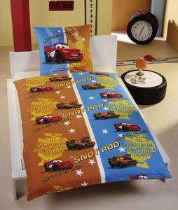 Bettwäsche Cars 135x200 / 80x80  Kinderbettwäsche Baumwolle Art: 224663