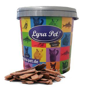 5 kg Lyra Pet® Pferdefleischstreifen in 30 L Tonne