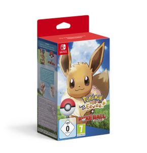 Pokemon - Let's Go, Evoli! + Pokeball Plus - ZB-Nintendo Switch