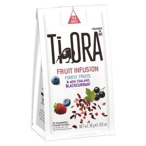 Ti Ora Früchtetee mit Forest Fruits und Black Currant, 15 Beutel