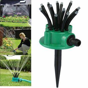 360° Garten Kreisregner Rasensprenger Rasen Regner Sprenger Sprinkler Erdspieß