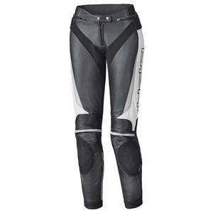 Held Lane II Damen Motorrad Lederhose Grösse: 38, Farben: Schwarz/Weiß
