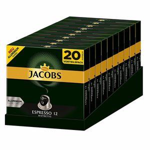 JACOBS Kapseln Espresso Ristretto 200 Nespresso kompatible Kaffeekapseln