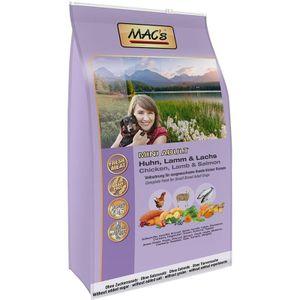 7kg MAC's Adult Mini Huhn, Lamm & Lachs Hunde Trockenfutter