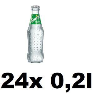 Sprite 24x 0,2l Glasflasche inkl. Mehrweg Pfand
