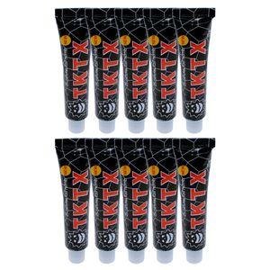 10 * TKTX 40% Numbing Tattoo Körperanästhetische Haut Numb Creme Semi Permanent , Schwarze Röhre