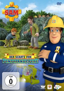 DVD Feuerwehrmann Sam - Der Schatz von Pontypandy Pete Staffel 10 Teil 5