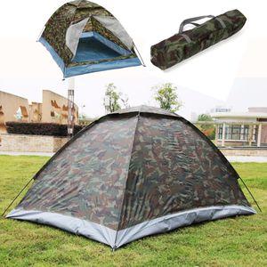 190T Zelt Camping Familienzelt Automatikzelt Wasserdicht Tent Travel