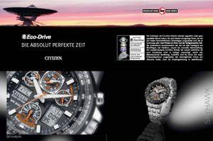 Citizen Promaster Marine Diver Taucheruhr Eco Drive Solar Armbanduhr BN0151-17L