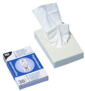 PAPSTAR Hygienebeutelspender Kunststoff weiß