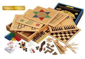 Philos 3101 - Holz Spielesammlung 100, Premium Edition 4014156031012