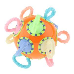 Greifen Beißring Ball Weiche Zähne Massage Spielzeug für Baby, Kleinkind (Farbe zufällig)