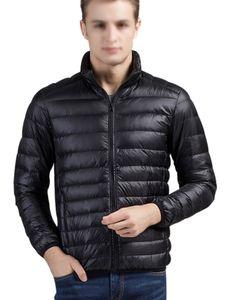 Warme und leichte Daunenjacke für Herren Coat,Farbe: schwarz,Größe:M