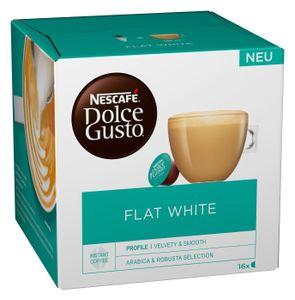Nescafé Dolce Gusto Flat White | 16 Portionen