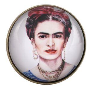 Kragen Abzeichen Abzeichen Brosche Stifte Retro Frida Kahlo Metall kreative Dekoration Patches