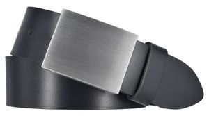 MYTEM-GEAR Gürtel Ledergürtel Herrengürtel Koppelschließe Schwarz  40mm 95