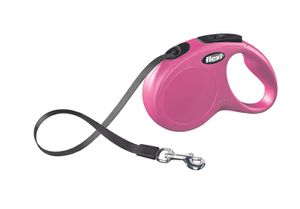 flexi New Classic S Gurt 5 m pink