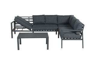 Garden Impressions Lounge Set Lexinton 4-tlg. mit Liegefunktion