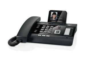 Gigaset Gigaset DL500A schnurgebundenes Telefon mit Anrufbeantworter, Farbdisplay, Rufnummernanzeige, Freisprechfunktion, Bluetooth, Ethernet, DECT