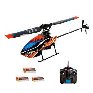 (3 Batterien Modus 2) Eachine E119 2.4G 4CH 6-Achsen Gyro Flybarless RC Hubschrauber RTF