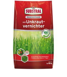 SUBSTRAL® Rasendünger mit Unkrautvernichter 9 kg