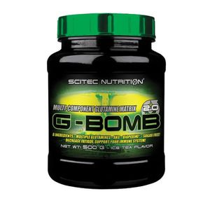 Scitec Nutrition G-Bomb 2.0 Glutamin, 500g, Geschmack:Pink Lemonade