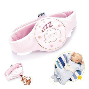 Babyjem Kinder Baby Kirschkernkissen Rosa Wärmekissen Körnerkissen Wärmegürtel