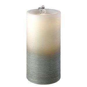Sompex Wasserkerze Fountain - in verschiedenen Farben, Farbe:grau weiß