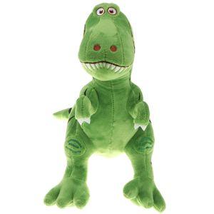 Großer Plüsch Tyrannosaurus Dinosaurier Kuschelige Weiche Kuscheltiere Dino Toy Tierspielzeug 30-50 cm Grün 30cm
