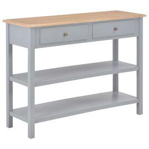【Neu】Kommoden Sideboard Grau 110×35×80 cm BEST SELLER- MDF Gesamtgröße:110 x 35 x 80 cm BEST SELLER-Möbel-Schränke-Sideboards im Landhaus-Stil