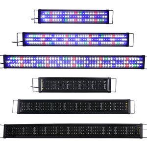 Lumiereholic 60CM LED Aquarium Beleuchtung Aufsetzleuchte  Licht Tank Aquarium Lampe,Vollspektrum, Für 60-80cm Aquarium