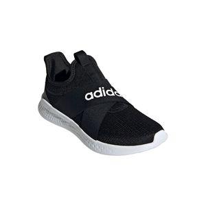 adidas Pantolette Puremotion Adapt Größe 6, Farbe: CBLACK/FTWWHT/GREFIV