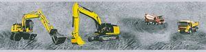A.S. Création Bordüre Little Stars gelb grau schwarz 5,00 m x 0,13 m 358711 35871-1