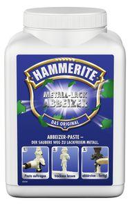 Hammerite Metall-Lack Abbeizer, Farbentfernungsmittel, Metall, Weiß, Paste, Weiß, 1 m²/L
