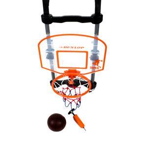 Elektronischer Basketballkorb für die Tür, mit Zählwerk, Tonfunktion, Ball, Ballpumpe mit Adapter, höhenverstellbar, batteriebetrieben, Größe ca. 66 x 43 x 37,5 cm