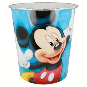 Mickey Maus Kinder Papierkorb Mülleimer Kunststoff Abfalleimer Eimer Micky Mouse