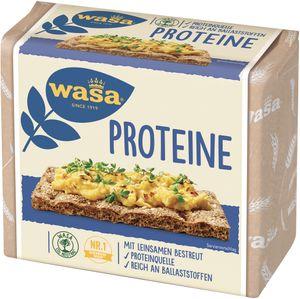 Wasa Fit und Vital Knäckebrot Proteine mit Leinsamen bestreut 225g