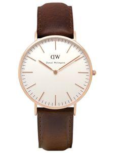 Daniel Wellington Uhr - Herrenuhr Bristol Rose Gold - 0109DW