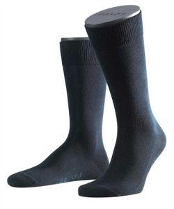 FALKE Herren Socken - Family, Strümpfe, Allrounder, Uni, Baumwollmischung, 39-50 Dark Navy 43-46 (UK 9-11)