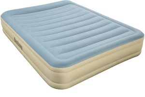 Bestway® Essence Fortech™ Airbed (Queen) 203x152x36 cm, Luftbett mit eingebauter Elektropumpe
