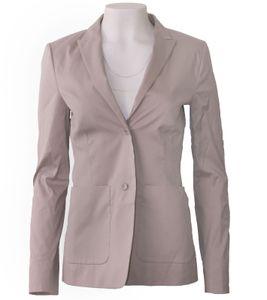 windsor. Business-Blazer modisches Damen 2-Knopf-Sakko Grau, Größe:34