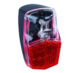 Fahrrad LED Rücklicht für Schutzblech-Montage Standlicht Naben-Dynamo FL12