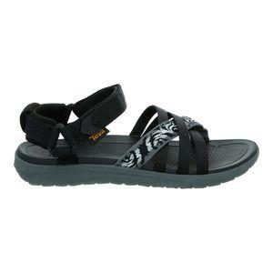 Teva Sanborn Sandal Womens thena gray/black - Trekkingsandale, Teva_Schuhgröße_Damen:41 (US 10), Teva_Farbe:thena gray/black