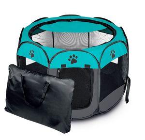 Welpenlaufstall/Tierlaufstall/Hundehütte/Welpenauslauf/Laufstall für Hunde/Katzenhaus/Wasserdichtes Zelt für Kleintiere wie Hunde, Katzen