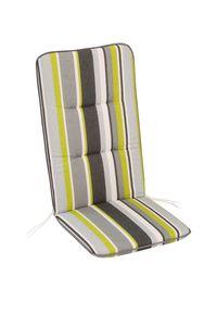 BEST Sesselauflage hoch 120x50x6cm, 05201865 bunt