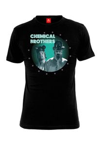 Breaking Bad T-Shirt Men - CHEMICAL BROTHERS - Black, Größe:S